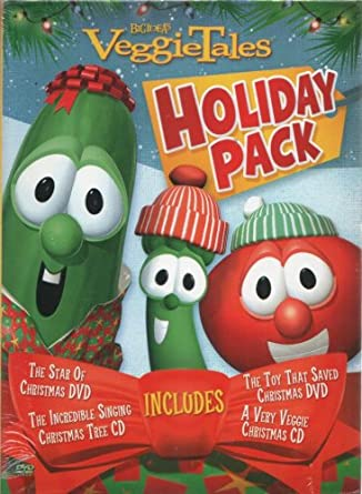 VeggieTales Holiday Pack: The Star of Christmas, the Toy That Saved  Christmas, a - Amazon.com: VeggieTales Holiday Pack: The Star Of Christmas, The Toy