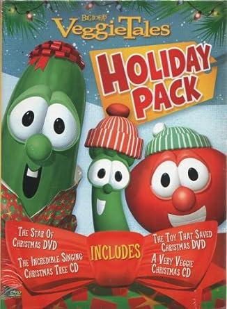 A Very Veggie Christmas.Amazon Com Veggietales Holiday Pack The Star Of Christmas