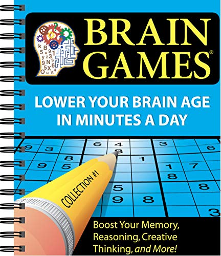 Brain Games® #1: Lower Your Brain Age in Minutes a Day Spiral-bound – December 15, 2007