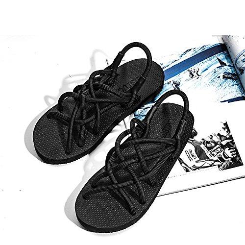 Beach Tamaño verano 5 Hole EU38 UK5 de Zapatillas Shoes CN38 sandalias hombre antideslizantes de q6TWB1
