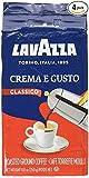 Lavazza Crema e Gusto Ground Coffee, Italian , 8.8-Ounce Bricks
