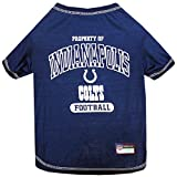 Pets First Indianapolis Colts T-Shirt, X-Small