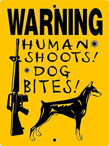 DOBERMAN PINSCHER ALUMINUM DOG SIGN ()
