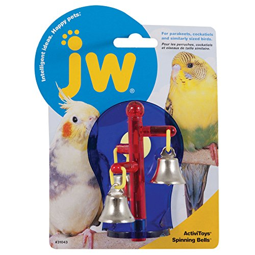 JW Pet Company Activitoys Spinning Bells Bird Toy, Assorted Colors