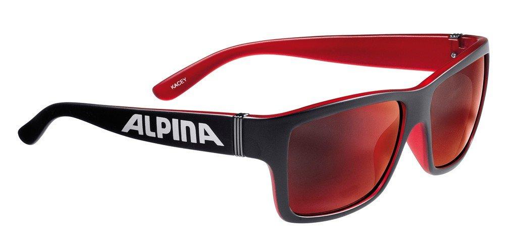Alpina Kacey Lunettes de soleil Noir/Rouge x8wXeS