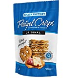 Snack Factory Pretzel Crisps Crackers (Original, 1 Pk – (25 Oz x 2 Ct))