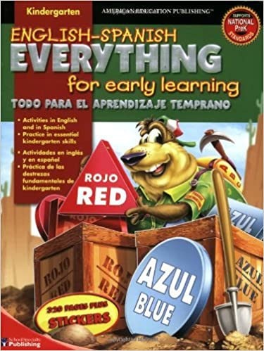 English-Spanish Everything for Early Learning, Kindergarten (English and Spanish Edition) by School Specialty Publishing (2006-03-14)