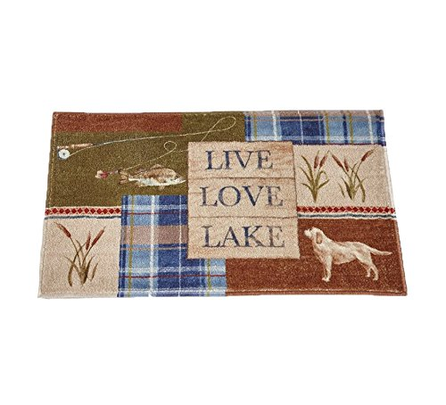 Bacova Guild Live Love Lake Bath Rug, 20'' x 33'' by Bacova Guild