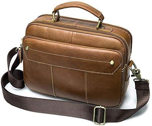 ビジネス ショルダーバッグ メンズ 本革 牛革トートバッグ メンズ 斜め掛け 2way 大容量 通学 通勤 肩掛けバッグ 手提鞄 紳士