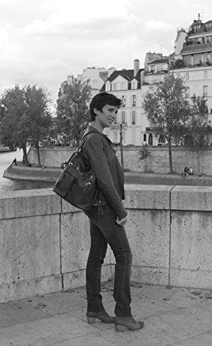 Noir à Main Champs Elysées cuir souple Sac Modèle xf0PnqOww