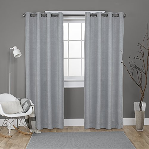 Exclusive Home Curtains Oxford Textured Sateen Thermal Ro...