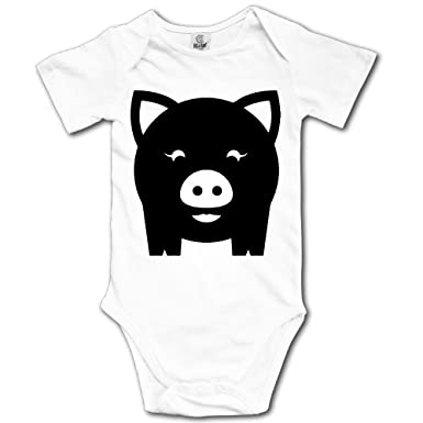 cfd66d0372 Amazon.com  JUE YEF Black Pig Boys  Cute Cotton Short-Sleeve ...