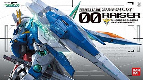 Bandai Hobby Gundam 00 Raiser 1/60 Perfect Grade Model Kit (Best Perfect Grade Gundam Model Kit)