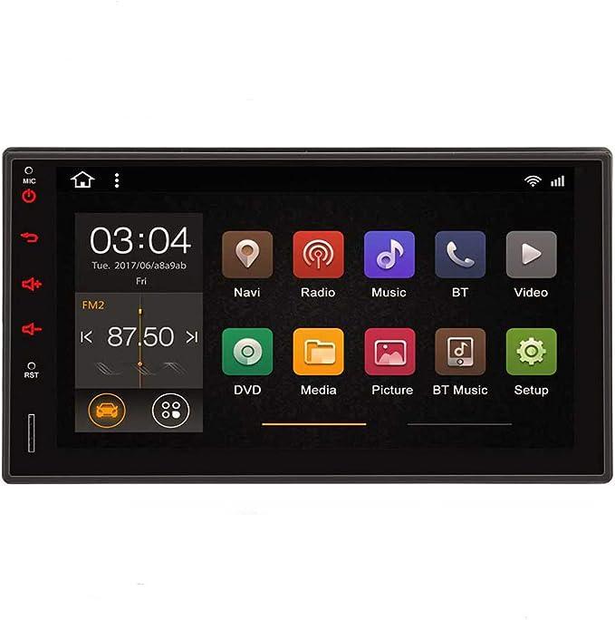 Android 10 2Din estéreo Quad Core Radio Bluetooth 7