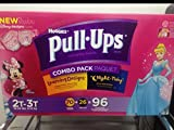 3 Wholesale Lots Huggies Pull-Ups Girls Learning Designs Combo Pack 2T-3T 18-34lbs, 288 Pull-Ups Total