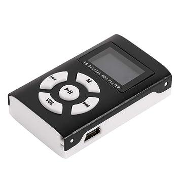 Amazon.com: Forart Mini reproductor de MP3 con pantalla LCD ...
