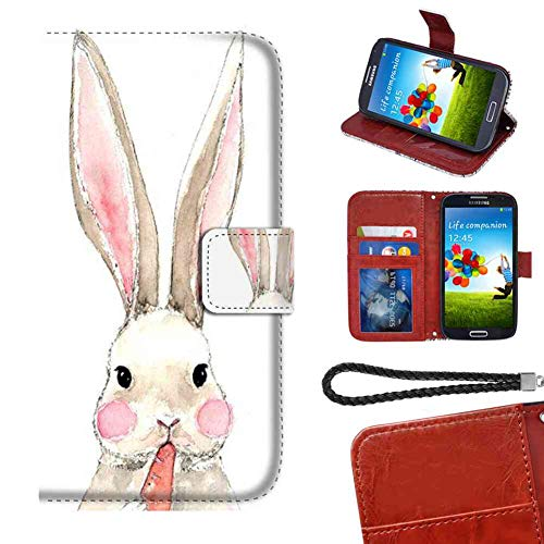 Wallet Case Compatible with Galaxy S6 (5.1in) Rabbit Eating Radish Team