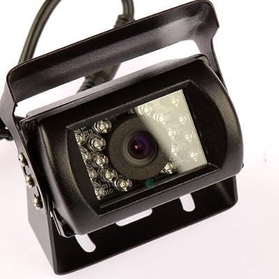 Moonet® CCD 18 LED Night Vision Backup Rear view Parking Kit Camera for Car Bus Truck RV Waterproof IR Reversing Camera