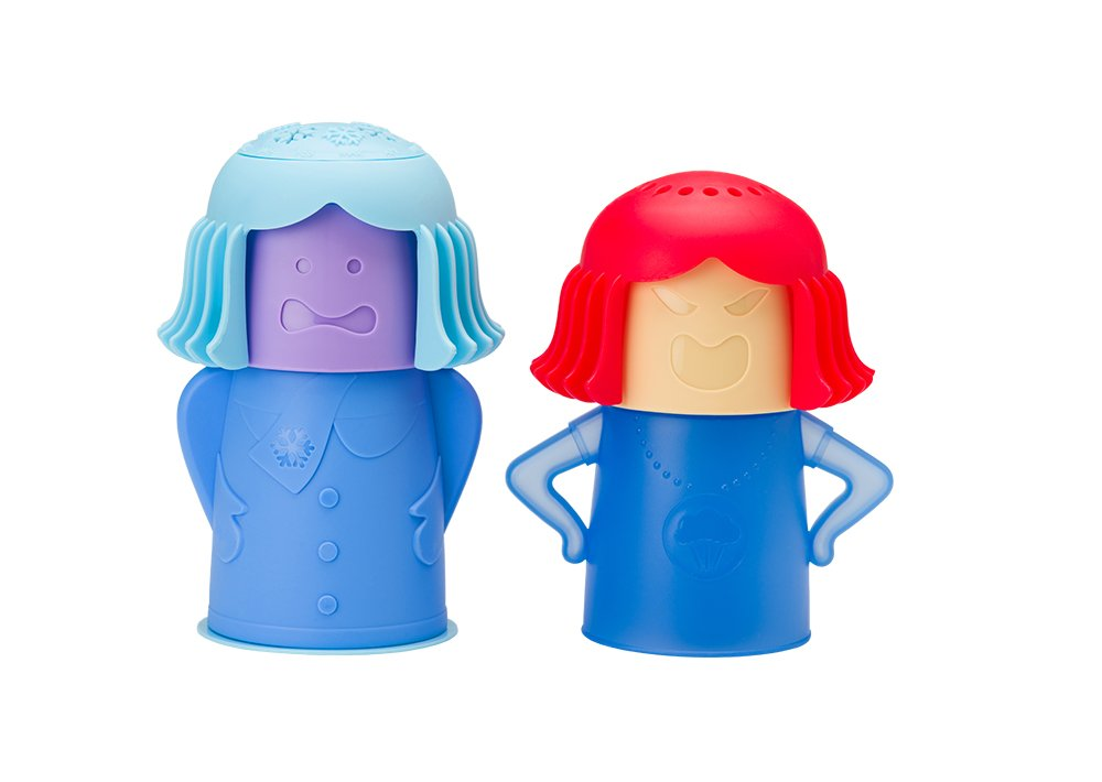 New Metro Design Angry Mama Microwave Cleaner (Chilly Mama and Angry Mama Set)