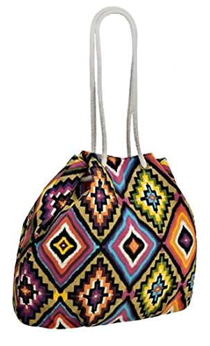 b6adf8713d Psychedelic Aztec Ladies Canvas Shoulder Bag - Buy Online in UAE ...