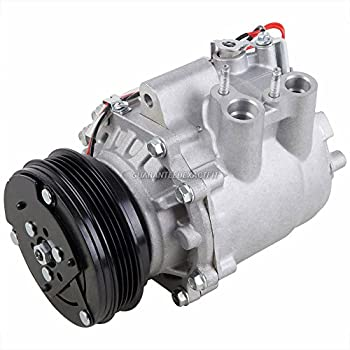 AC Compressor & A/C Clutch For Honda Civic 2003 2004 2005 - BuyAutoParts 60-02068NA NEW