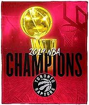 The Northwest Company Toronto Raptors NBA 2019 Champions HD Silk Touch Throw Blanket, One Size, Multi