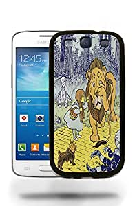 Vintage The Adventures of Wizard of Oz Sketch Art Drawing Phone Case Cover Designs for Samsung Galaxy S3