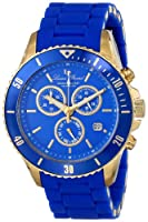 Lucien Piccard Women's LP-93609-YG-33 Mocassino Analog Display Swiss Quartz Blue Watch from Lucien Piccard