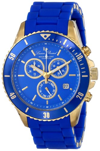 Lucien Piccard Women's LP-93609-YG-33 Mocassino Analog Display Swiss Quartz Blue Watch