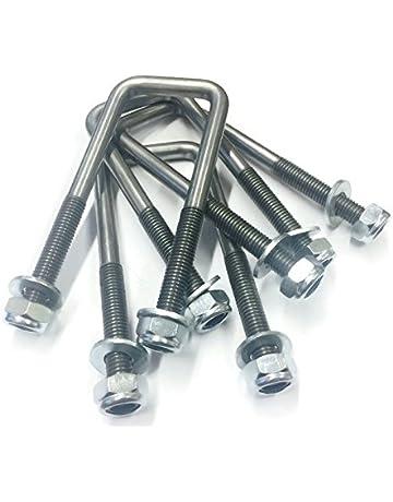 Amazon co uk: U-Bolts - Nails, Screws & Fasteners: DIY & Tools