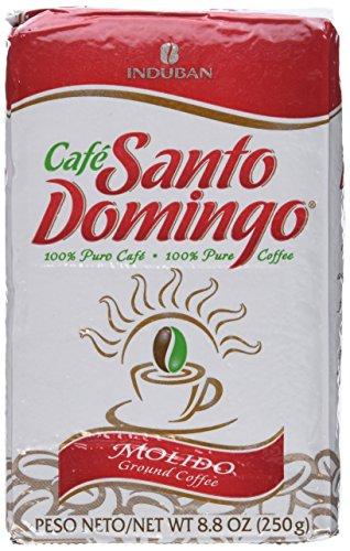 Santo Domingo 100% Pure Ground Coffee Vacuum Packed 8.8 Oz.