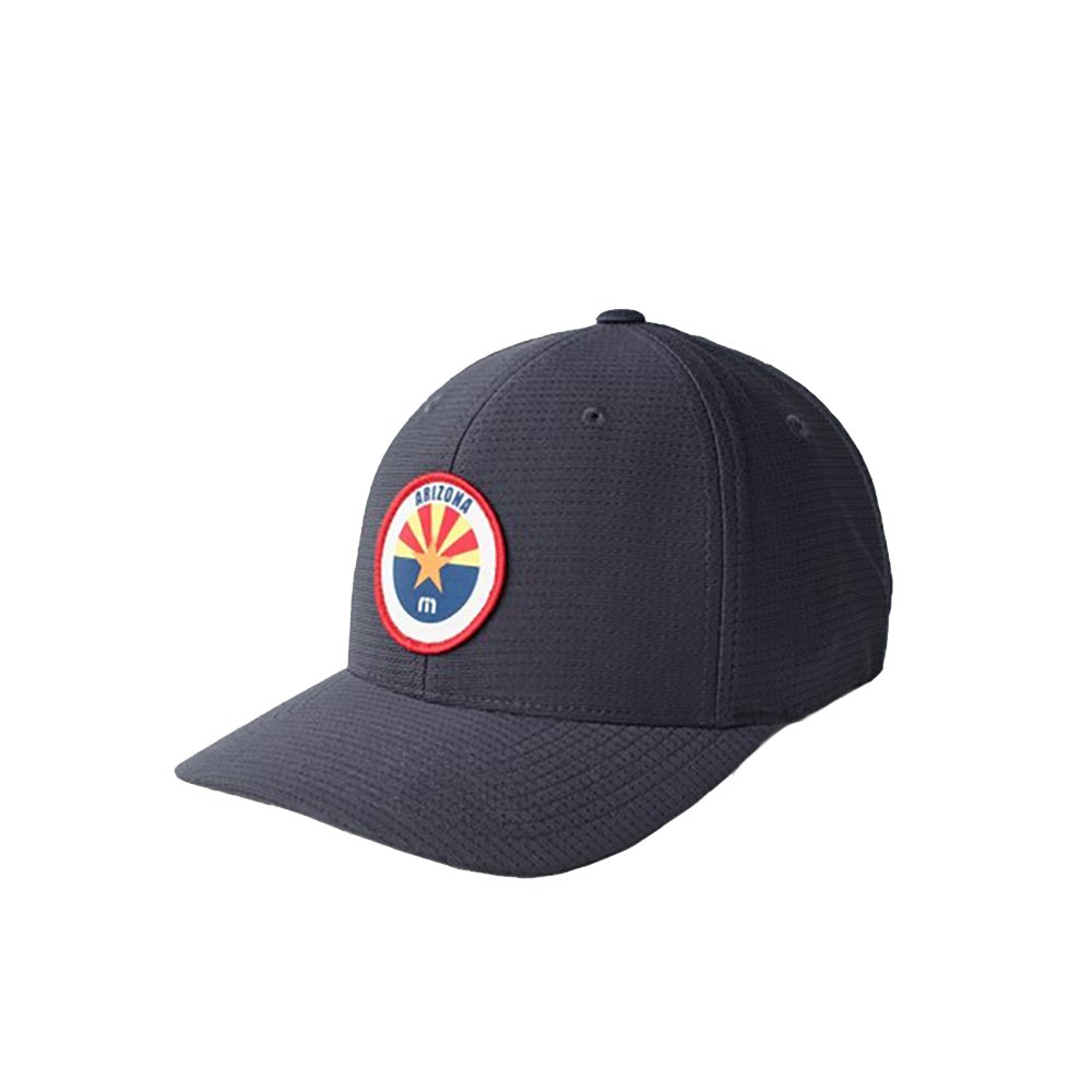 Travis Mathew Grand Canyon (Arizona) Fitted Hat Navy at Amazon Men s  Clothing store  719408a23e2