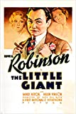the little giant VINTAGE movie poster EDWARD G. ROBINSON mary astor 24X36 (reproduction, not an original)