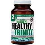 Natren Healthy Trinity Dairy Free Capsules, 30-Count