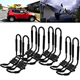 Tengchang 4 Pairs J-Bar Rack HD Kayak Carrier Canoe