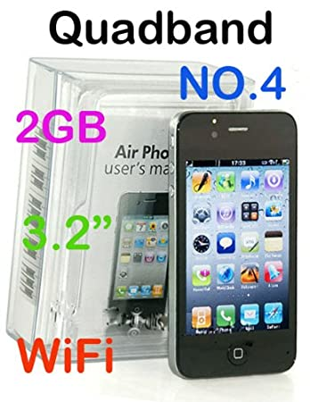 a4ca157b1 AIRPHONE NO4 3.2  TOUCH SCREEN MOBILE PHONE GSM  Amazon.co.uk ...