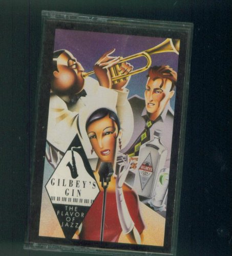 GILBEY'S GIN. THE FLAVOR OF JAZZ. 1991 CEMA. AUDIO CASSETTE. ()