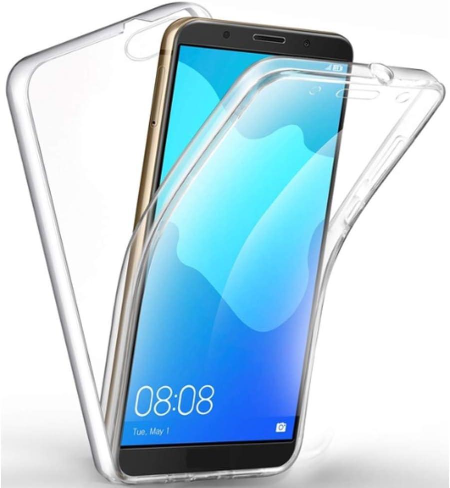 Inkolelo Coque Étanche iPhone 11 Full Body Coque Intégrale Transparente Bumper 360 Degrés Cover pour iPhone 11 6.1 inch (Noir)