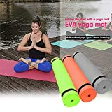 SSDXY 4MM EVA Thick Durable Yoga Mat Non-slip