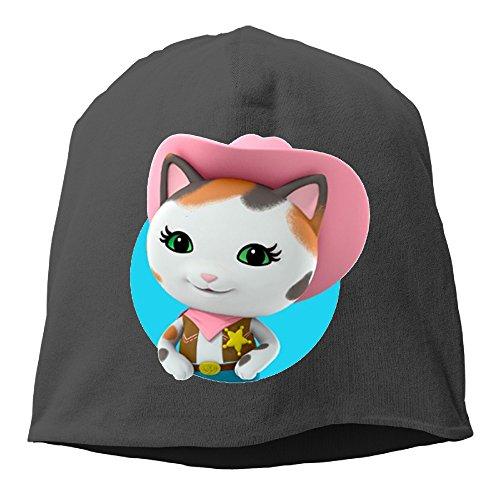 [Sheriff Callies Wild West Unisex Warm Winter Hat Knit Beanie Skull Cap Cuff Beanie Hat Winter Hats] (Sheriff Hats For Sale)