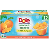 #1: Dole Fruit Bowls, Mandarin Oranges in 100% Juice Cups, 12 Count