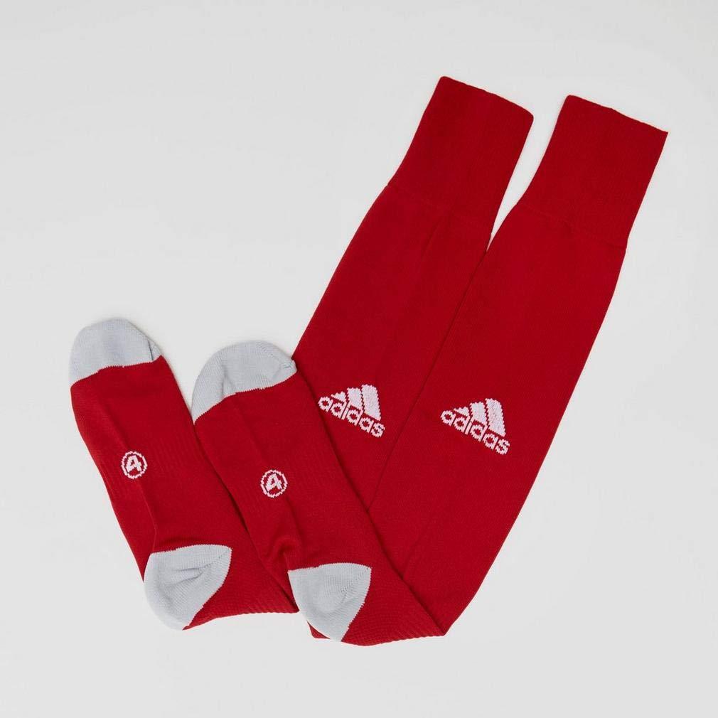 adidas Medias Milano 16 Rojo-Blanco Talla 1 (34-36)