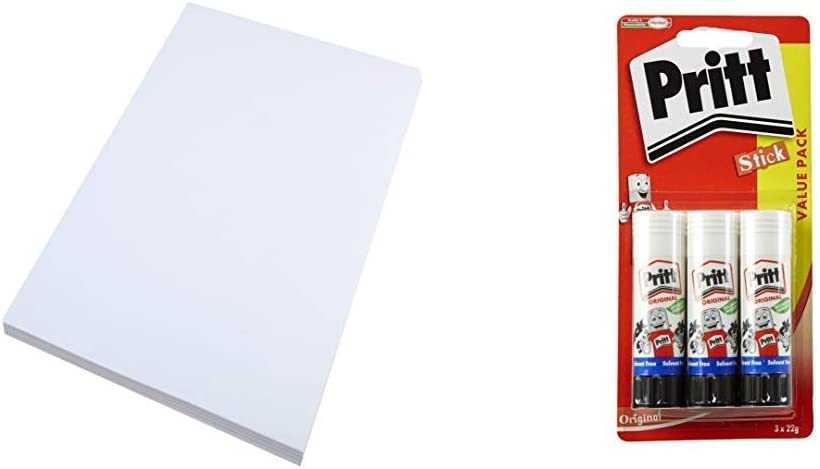 Pack of 50 Sheets White House of Card /& Paper A2 220 gsm Card