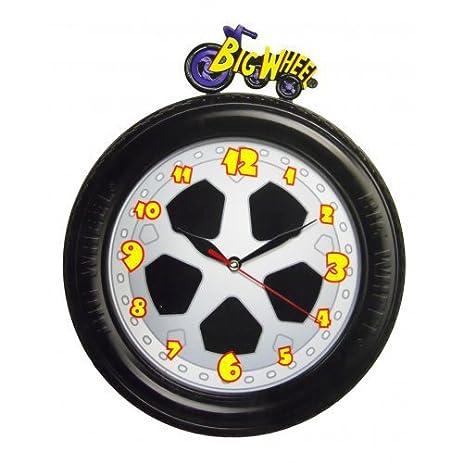 Amazoncom Big Wheel Alarm Clock with Glow in the Dark Hands