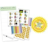Reward Chart/Star Chart/Chore Chart supporting the start of primary school - My Growing Up Chart (4yrs+) 63 x 29.7cm