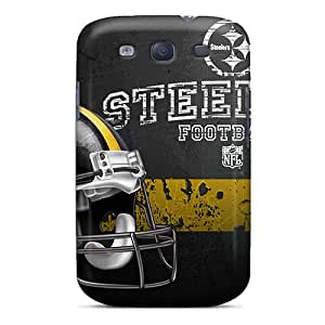 Harries Galaxy S3 Hybrid Tpu Case Cover Silicon Bumper Pittsburgh Steelers