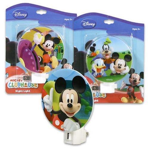 Mickey Night Light Assorted Styles