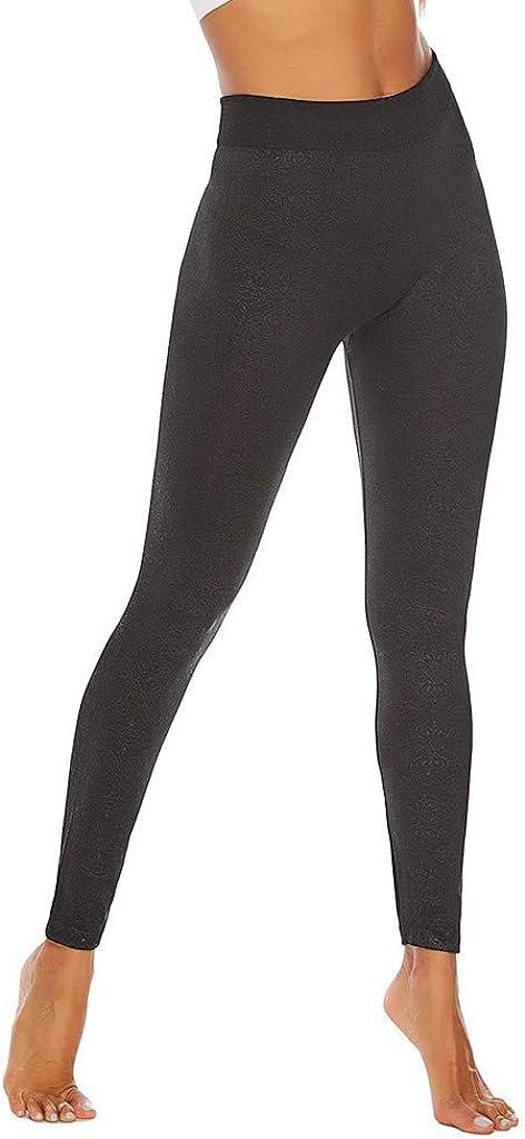 Toraway ladiesprinted Tight Seamless Fitness Running Yoga Pants