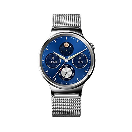 Huawei Watch Stainless Steel with Stainless Steel Mesh Band (U.S. Warranty) by Huawei