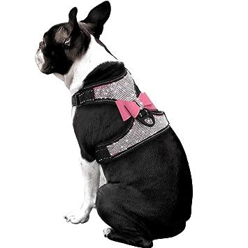 Beirui - Arnés para Perro con Diamantes de imitación, Chaleco de ...